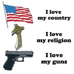 Country, Religion and Guns
