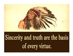 SINCERITY AND TRUTH QUOTE