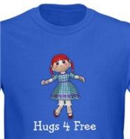 Hugs for Free Cute Ragdoll