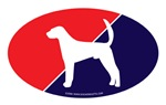 US Flag American Foxhound
