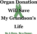 Grandson Organ Donation