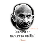 Ghandi 'eye for an eye