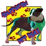 pit bull pop art