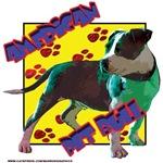 pit bull pop art