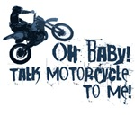 Oh Baby, talk motorcycle to me... Sexy