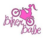 Biker Babe. Sexy, cute, pink girly girl gifts.