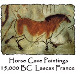Lascaux Horse Cave Art Paintings Petroglyph