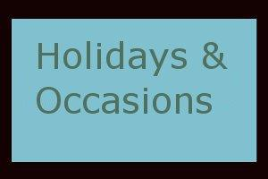 Gifts for Holidays, Birthdays, and Special Occasio