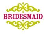 Bridesmaid (Hot Pink and Lime)