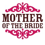 Mother of the Bride (Hot Pink and Chocolate Brown)