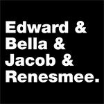Edward & Bella & Jacob & Renesmee