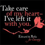 Take care of my heart, I've left it with you.