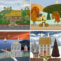 New Cottages! Exclusive Irish Village Series©