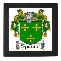 Spratt Coat of Arms