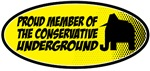 Proud member of the Conservative Underground