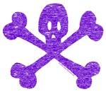 PurpleSkull&Crossbones