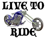 Motorcycle & Chopper T-Shirts