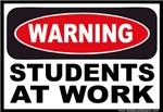 Warning Students at Work