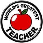 World's Greatest Teacher with Apple