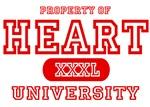 Heart University T-Shirts