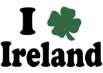 I Love Ireland T-Shirts