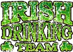 Irish Drinking Team Retro T-Shirts