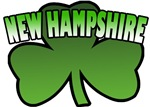 New Hampshire Shamrock T-Shirts
