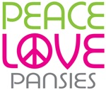 Peace Love Pansies