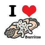 I Heart (Love) Burritos