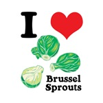 I Heart (Love) Brussel Sprouts