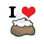 I Heart (Love) Baked Potatoes