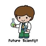 Future Scientist Boy