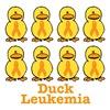 Leukemia Orange Ribbon Ducks