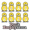 Emphysema Awareness Ribbon Ducks