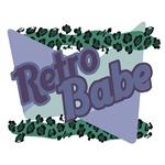 Retro Babe Leopard Print Design