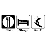 Eat. Sleep. Surf.