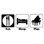 Eat. Sleep. Play. (Piano)
