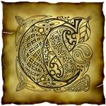Celtic Knotwork Letter C