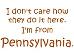 I'm From Pennsylvania