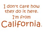 I'm From California