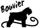 bouvier dog swirl