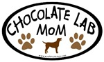 Chocolate Lab Mom