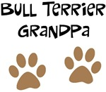 Big Paws Bull Terrier Grandpa
