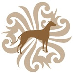 Tan & Brown Greyhound