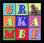 GR / AKA / MBF (Golden Retriever / Also Known As /