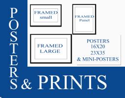 FRAMED PRINTS & POSTERS