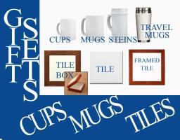 GIFT SETS - MUGS CUPS TILES