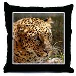 Cheetaro Leopard Throw Pillows