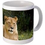 Sarabi the Barbary Lion Mugs