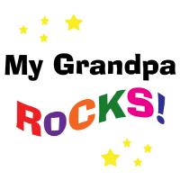 Cool My Grandpa Rocks T Shirts Gifts